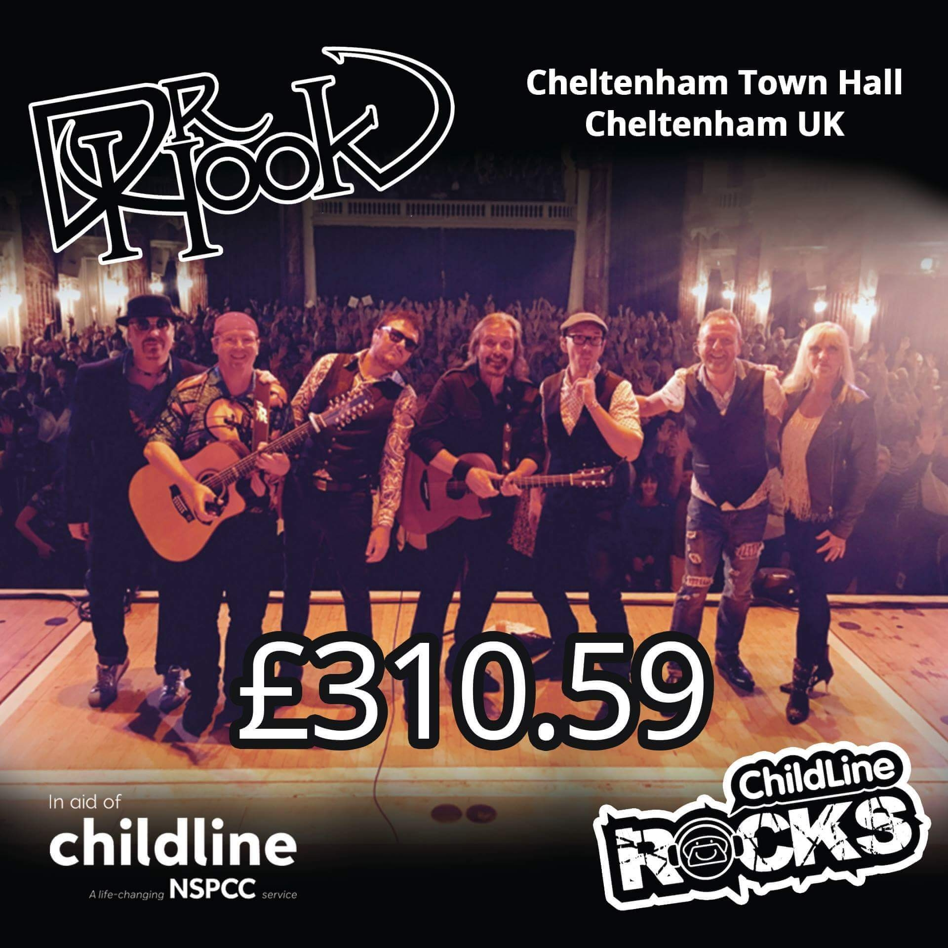 Dr Hook - Fundraising 2017 - Childline NSPCC - Cheltenham UK-a