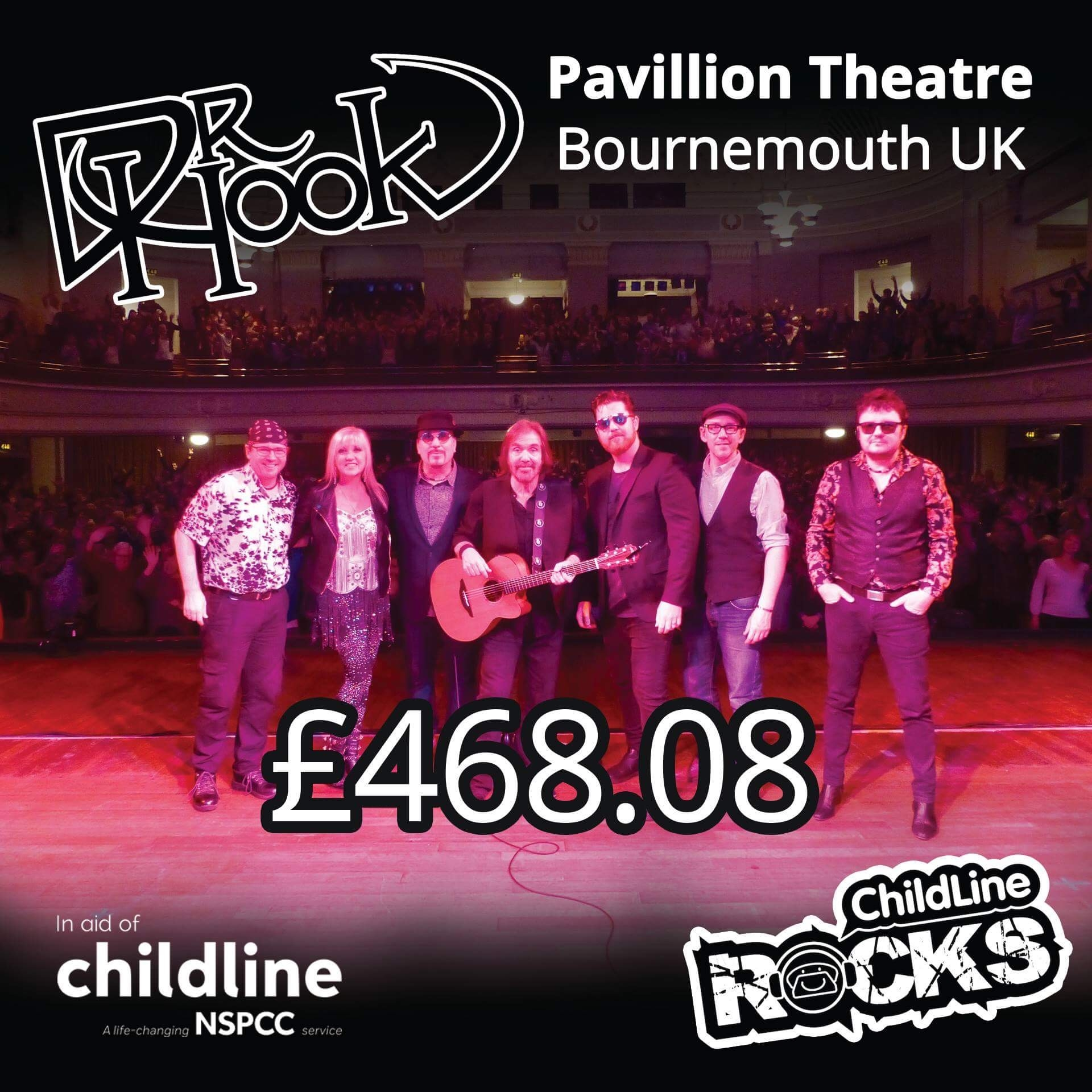 Dr Hook | Fundraising 2017 | NSPCC Childline | Bournemouth | UK