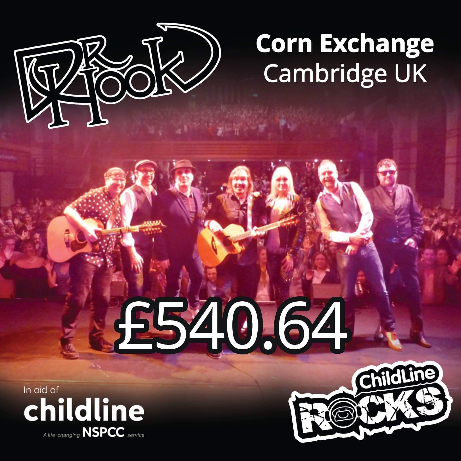 Dr Hook - Fundraising 2017 - NSPCC Childline - Cambridge - UK-a
