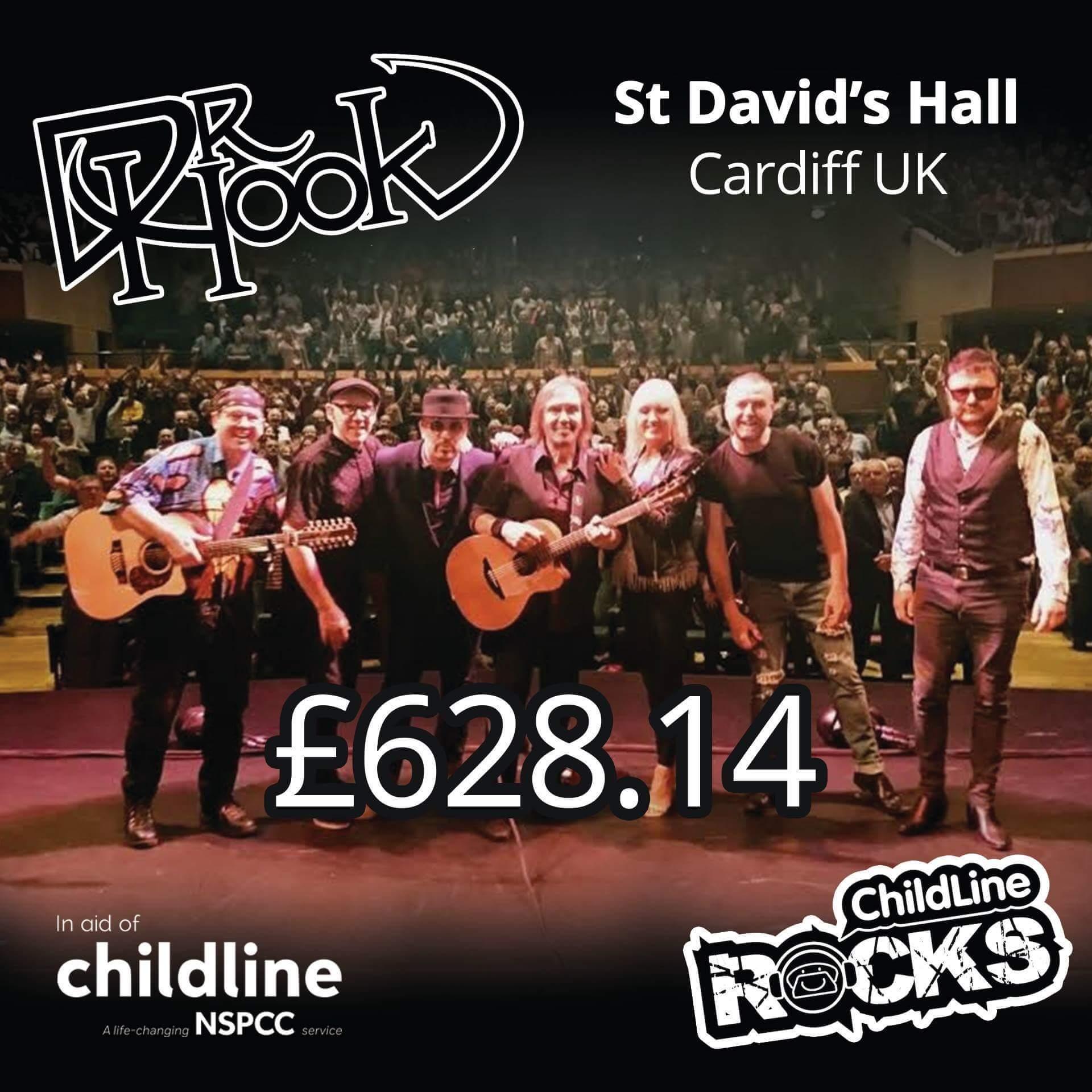 Dr Hook - Fundraising - 2017 - NSPCC Childline - Cardiff
