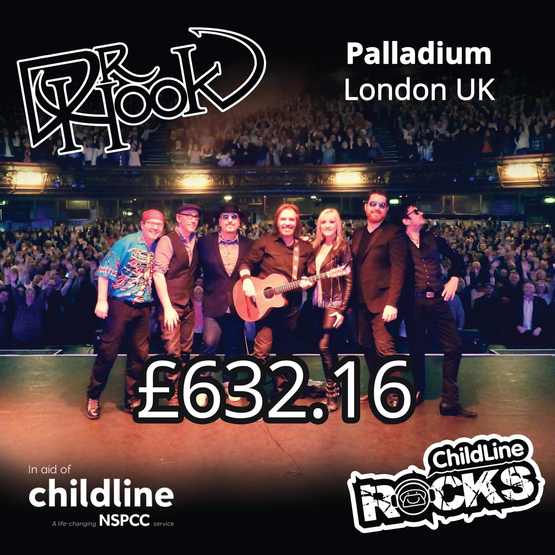 Dr Hook | Fundraising 2017 | NSPCC Childline | London | UK