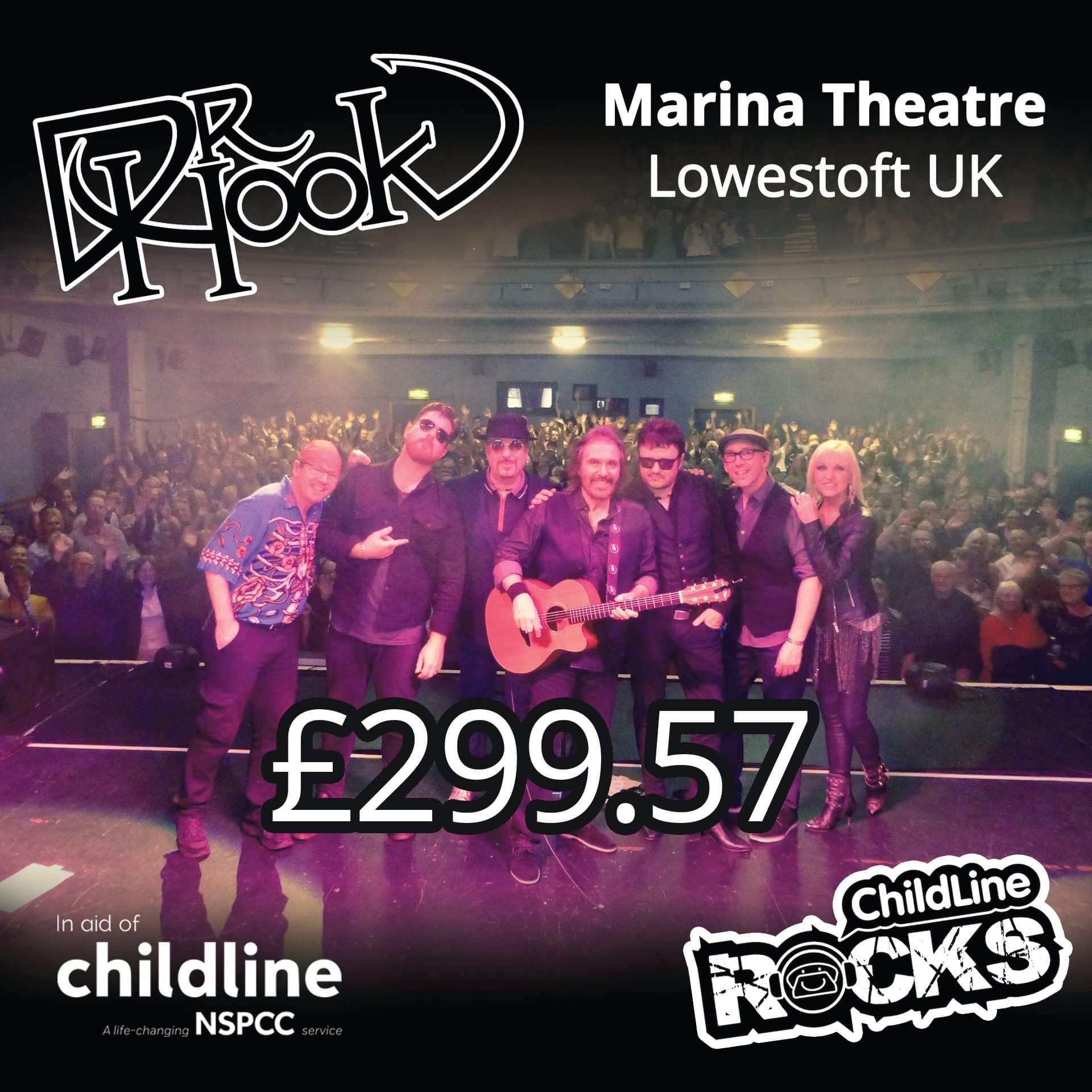 Dr Hook | Fundraising 2017 | NSPCC Childline | Lowestoft | UK