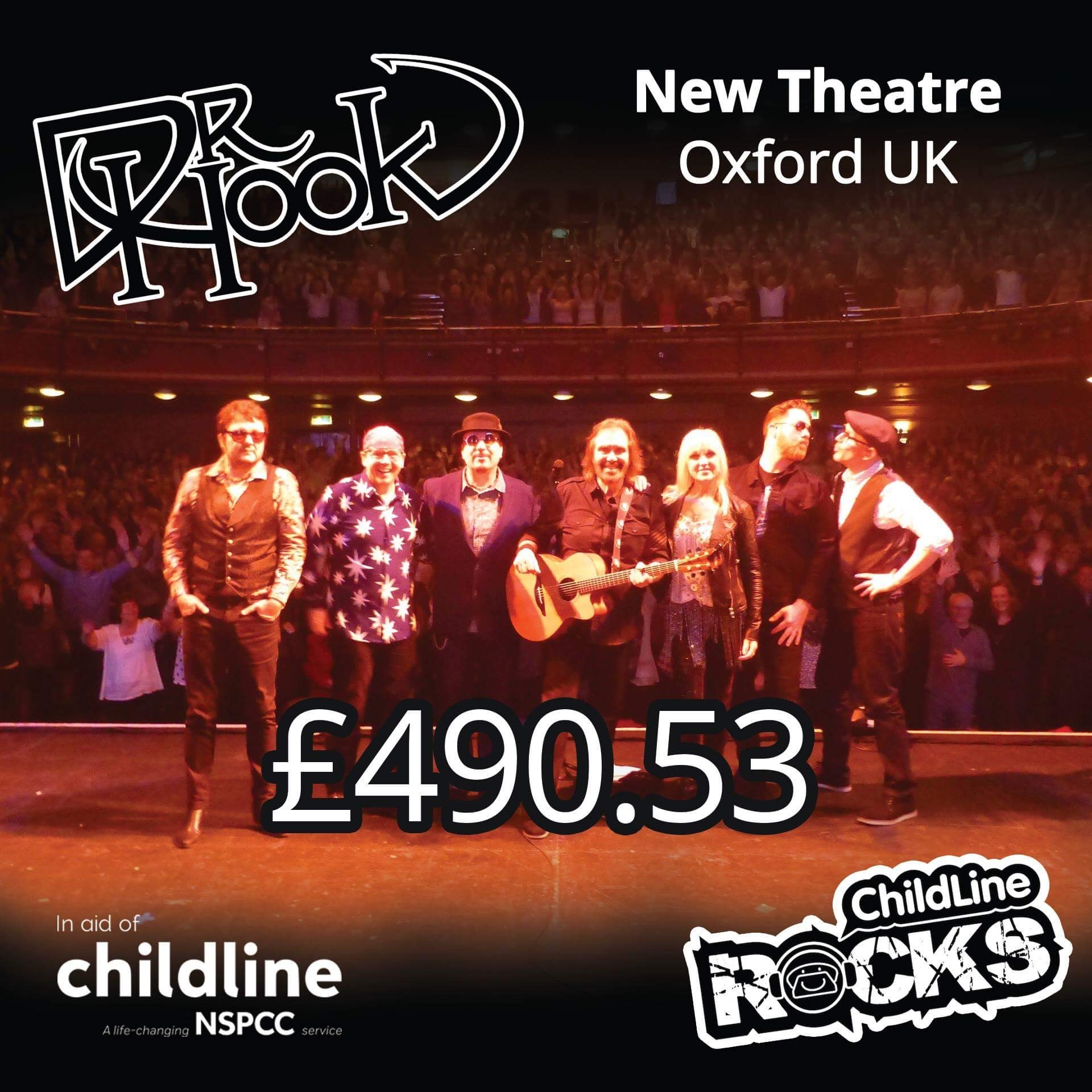 Dr Hook | Fundraising 2017 | NSPCC Childline | Oxford | UK