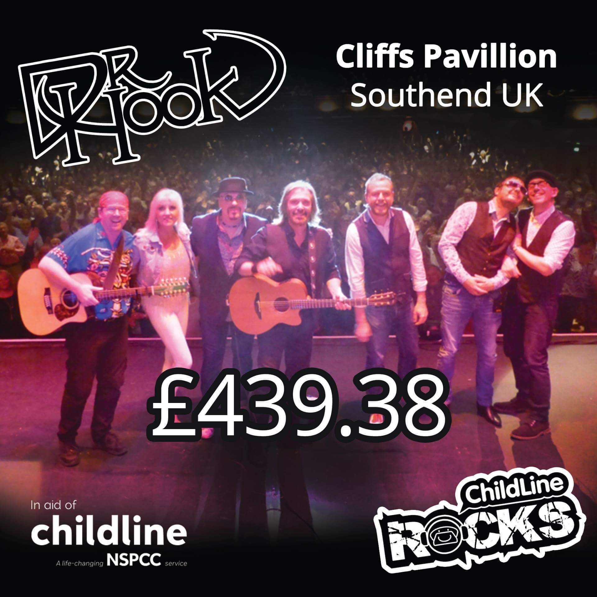Dr Hook - Fundraising - Childline - NSPCC - Torquay - UK - 2017-a