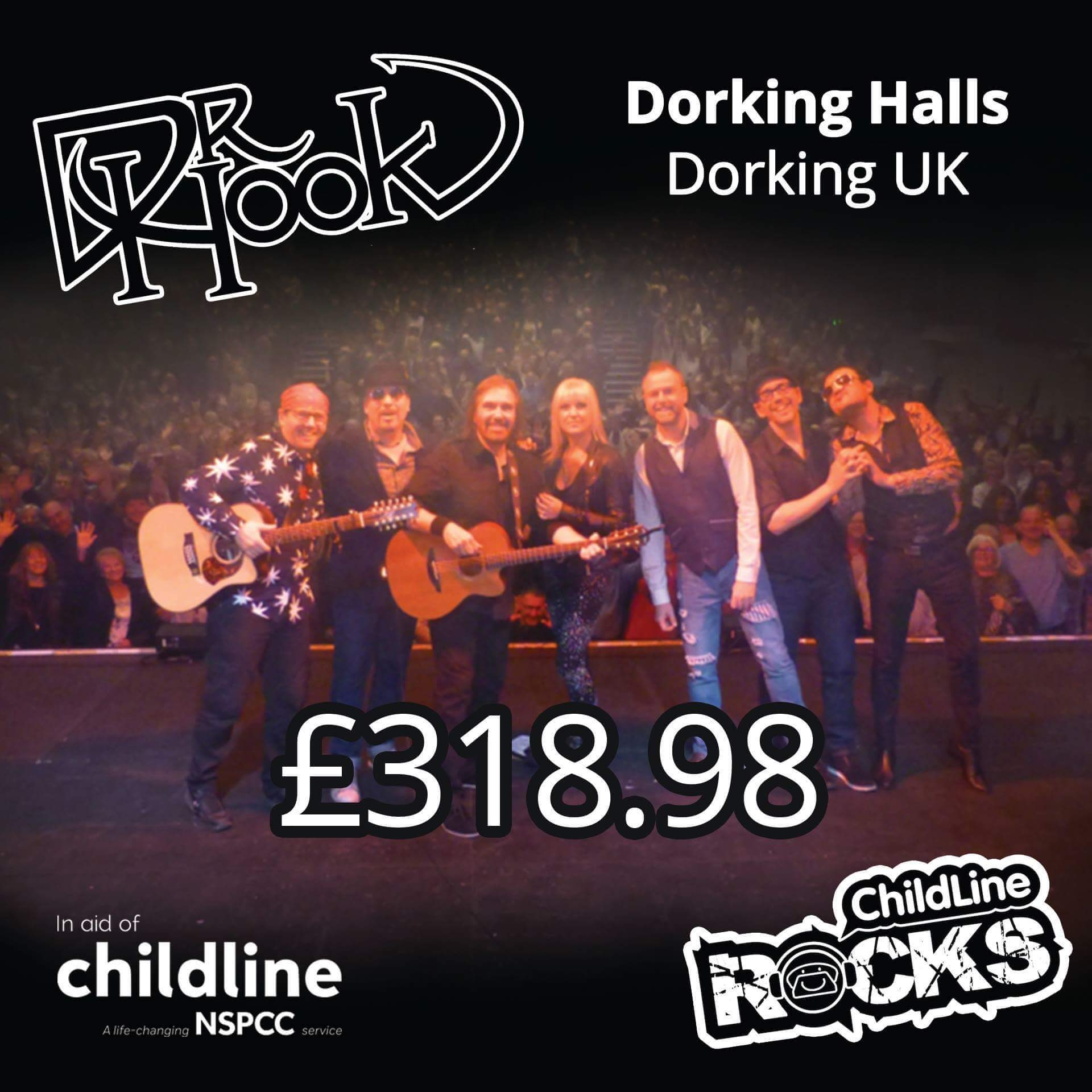 Dr Hook - Fundraising - NSPCC - Childline - Dorking-UK - 2017-2