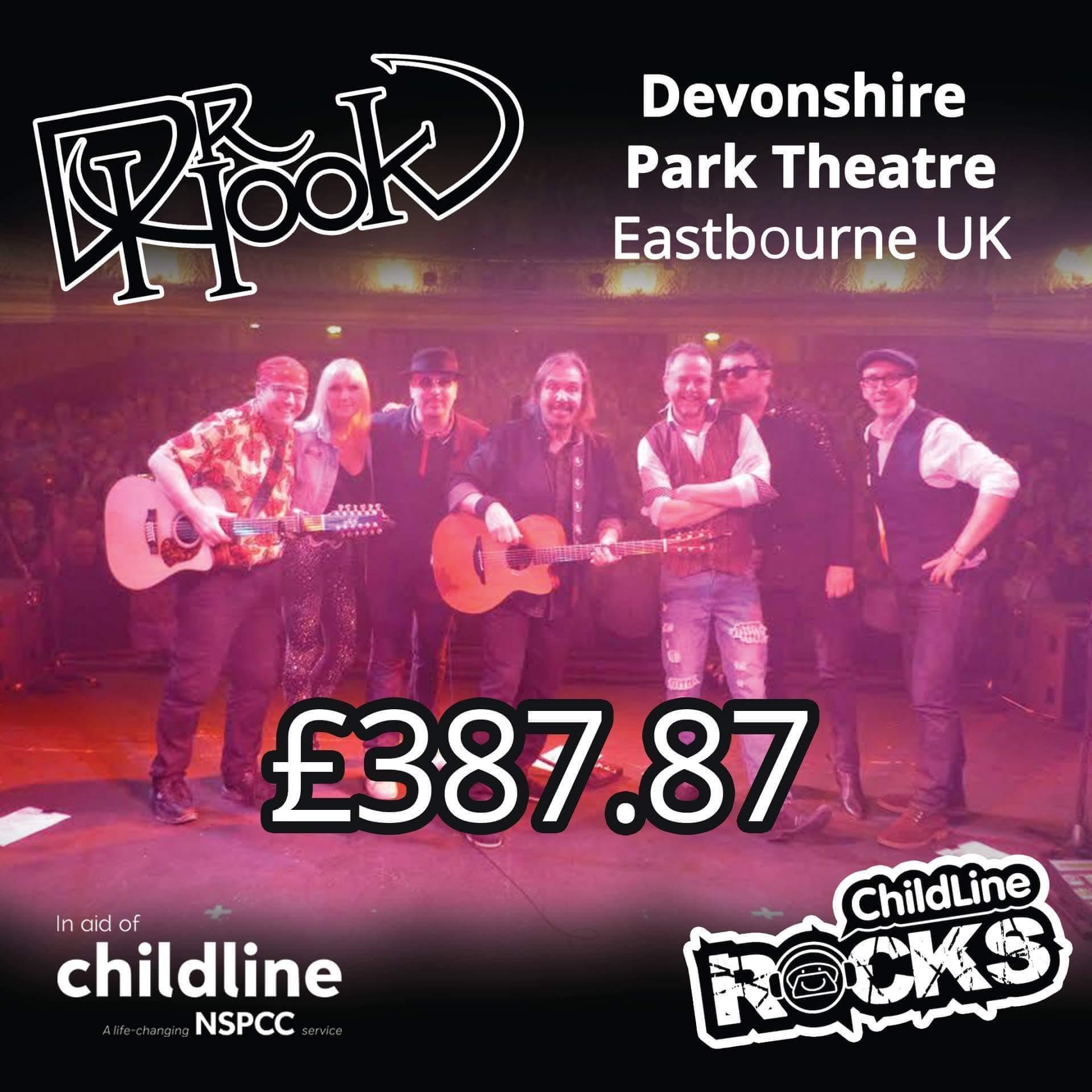 Dr Hook - Fundraising - NSPCC Childline - Eastbourne - 2017-a
