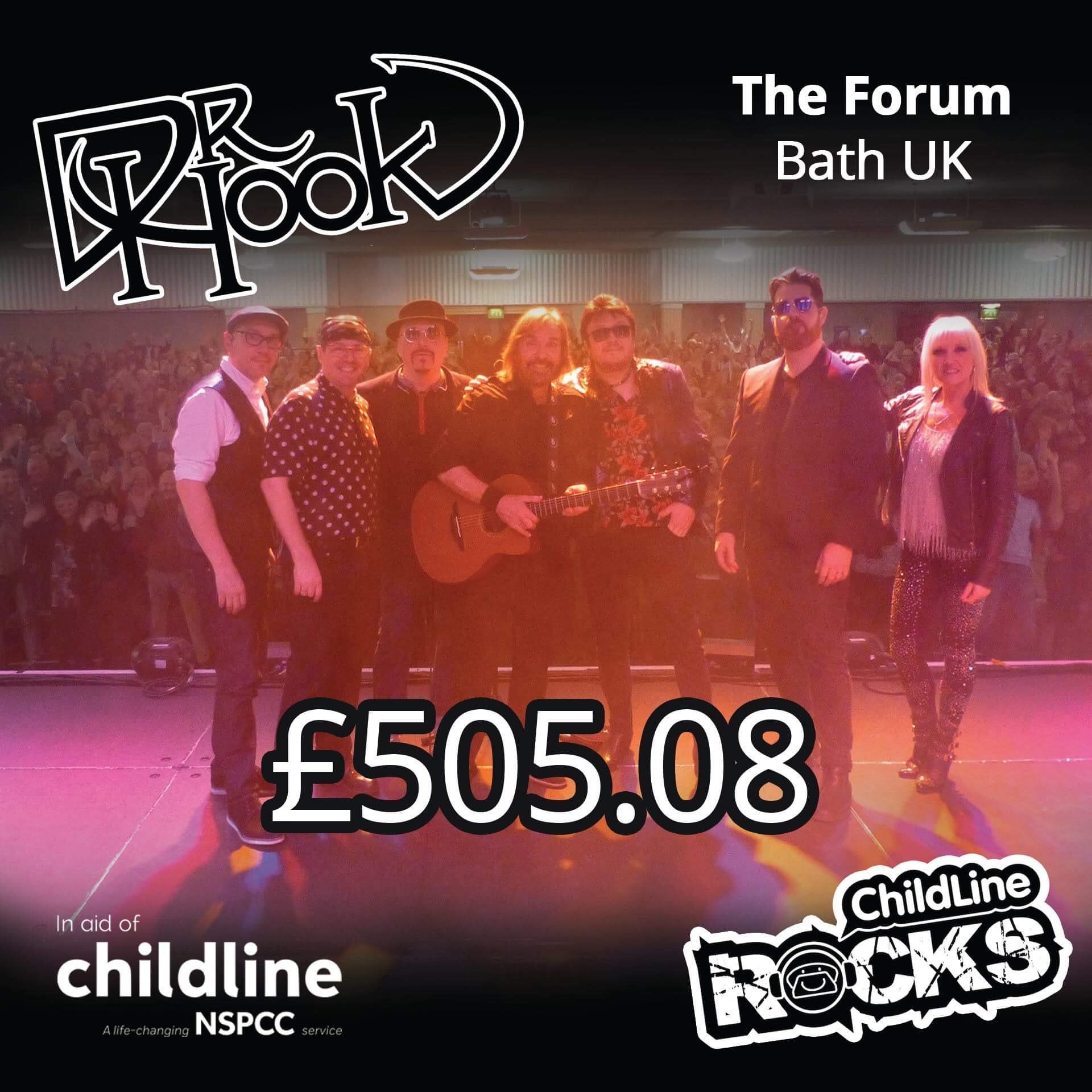 Dr Hook   UK & IE Tour   2017   Fundraising For NSPCC Childline   Bath UK