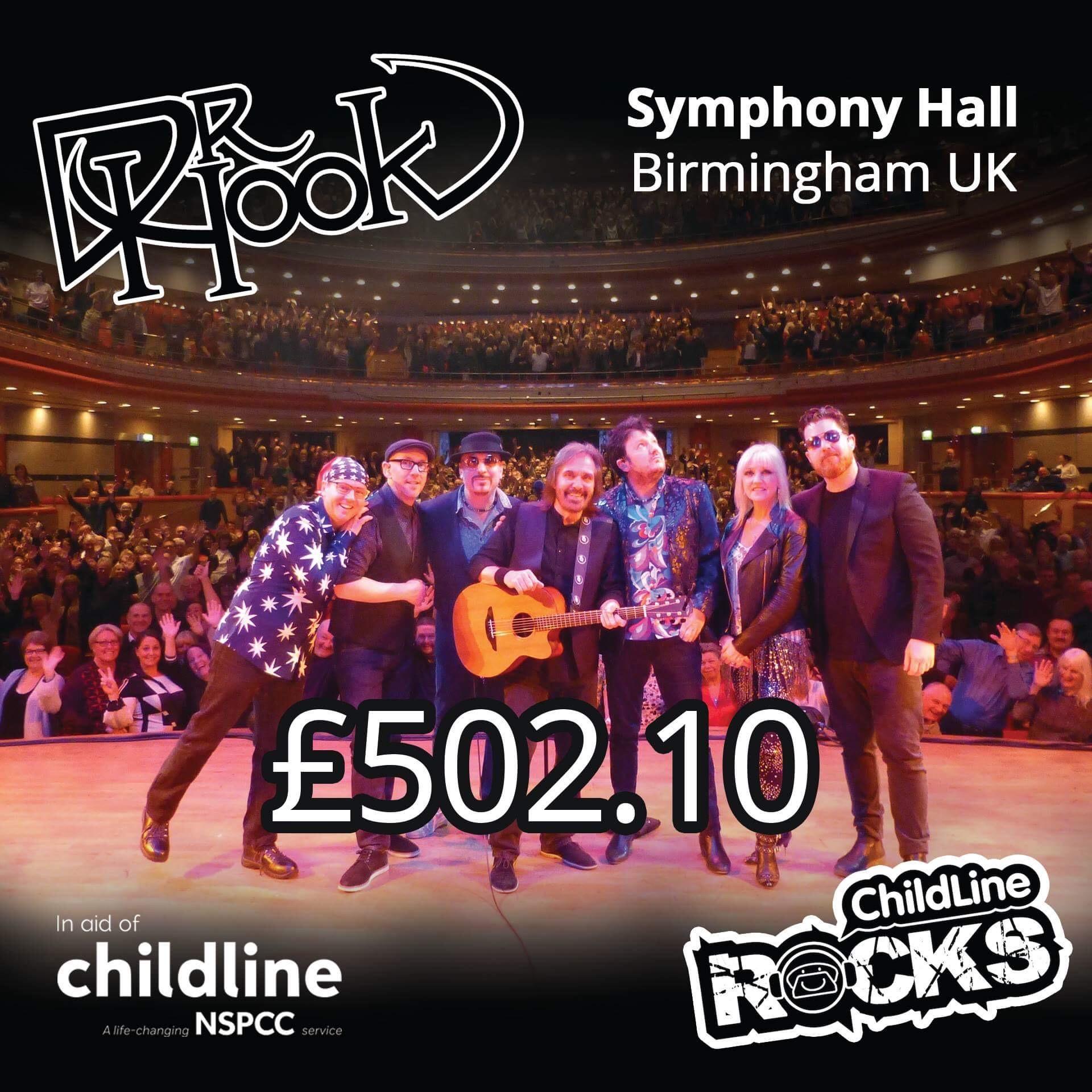 Dr Hook   UK & IE Tour   2017   Fundraising For NSPCC Childline   Birmingham UK