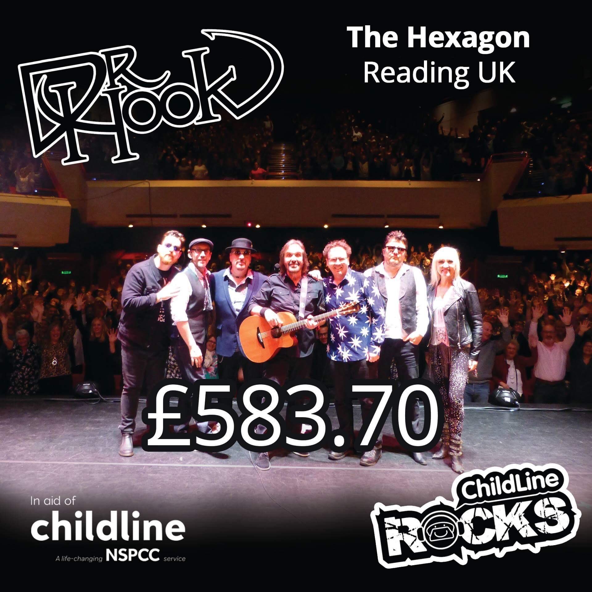 Dr Hook   UK & IE Tour   2017   Fundraising For NSPCC Childline   Reading UK
