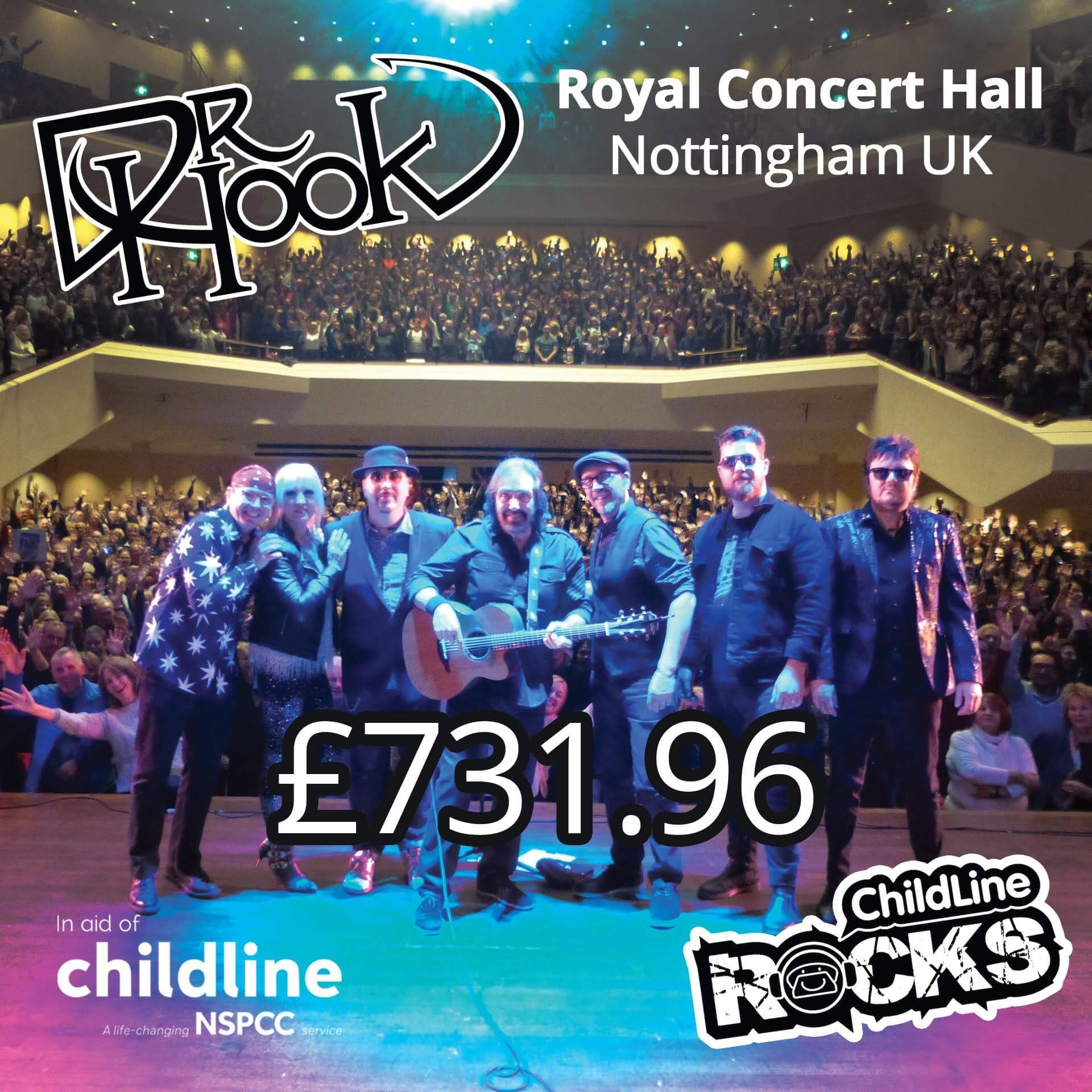 Dr Hook Fundraising NSPCC Childline - Nottingham
