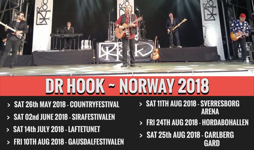 Dr Hook Norway 2018